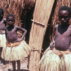 Cokwe Boys in Seclusion in Circumcision Camp