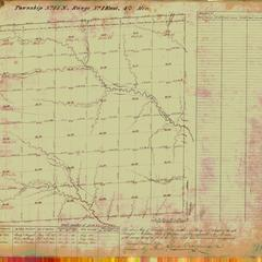 [Public Land Survey System map: Wisconsin Township 15 North, Range 01 East]