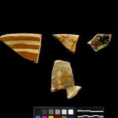 Dish and hollow-ware fragments