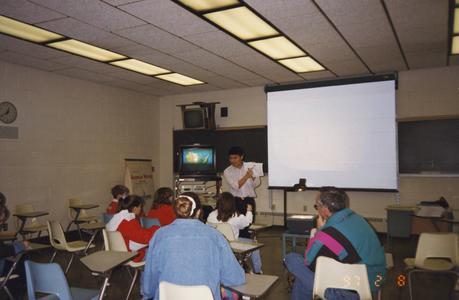 UW Barron County faculty Cary Komoto