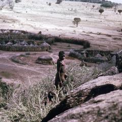 Karamoja Villagers Near Koido Village