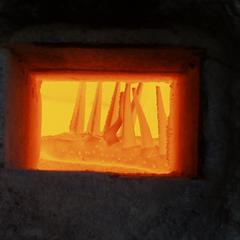 Field Station kiln firing