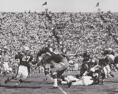 Wisconsin vs. Notre Dame football game