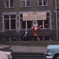 Homecoming 1960 decorations