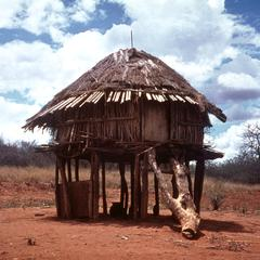 House on the Bank of the Tana River