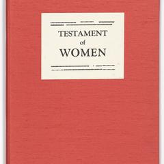 Testament of women : a new translation to & from the texts