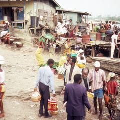Vendors and peddlers in Igbo Koda