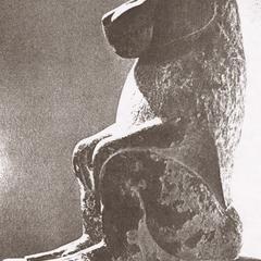 Egyptian Hamadryas Baboon Sculpture
