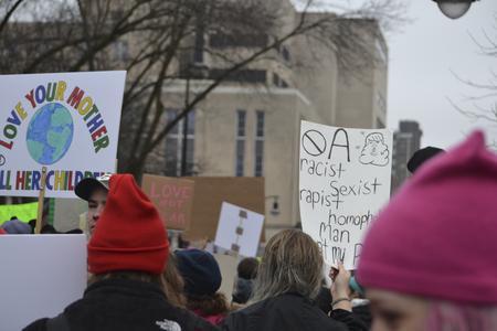 A Racist, Sexist, Rapist, Homophobic Man is Not my President