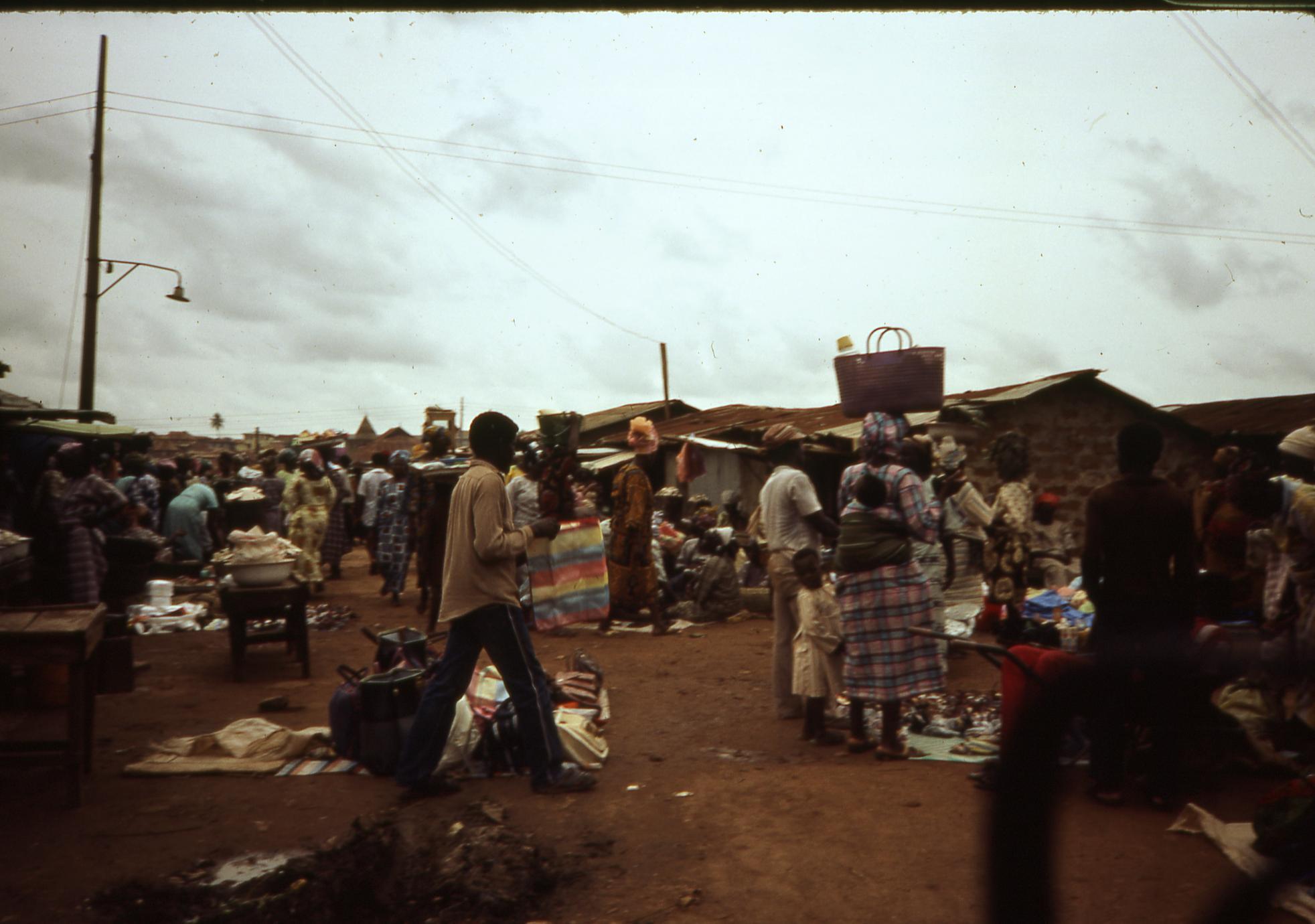 View of Ilesa market