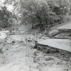 Copper Falls flooding