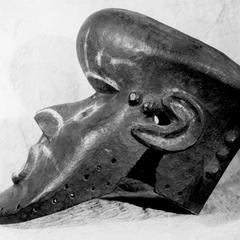 Kuba-Shoowa Bwom Mask, Side View