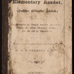 German elementary reader
