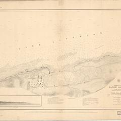 Preliminary chart of Eagle Harbor, Lake Superior