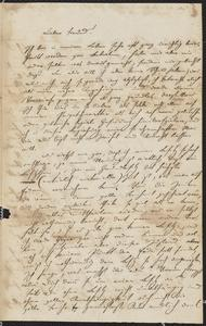 [Letter from a friend to Jakob Sternberger, April 12, 1857]