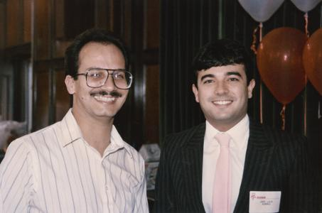 Multicultural Reception and Awards ceremony in 1990