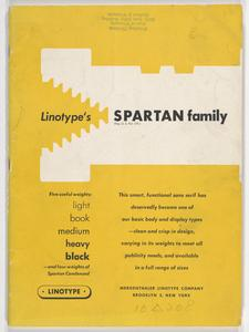 Linotype's Spartan family