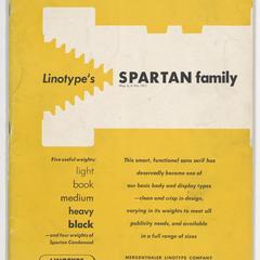 Linotype's Spartan family
