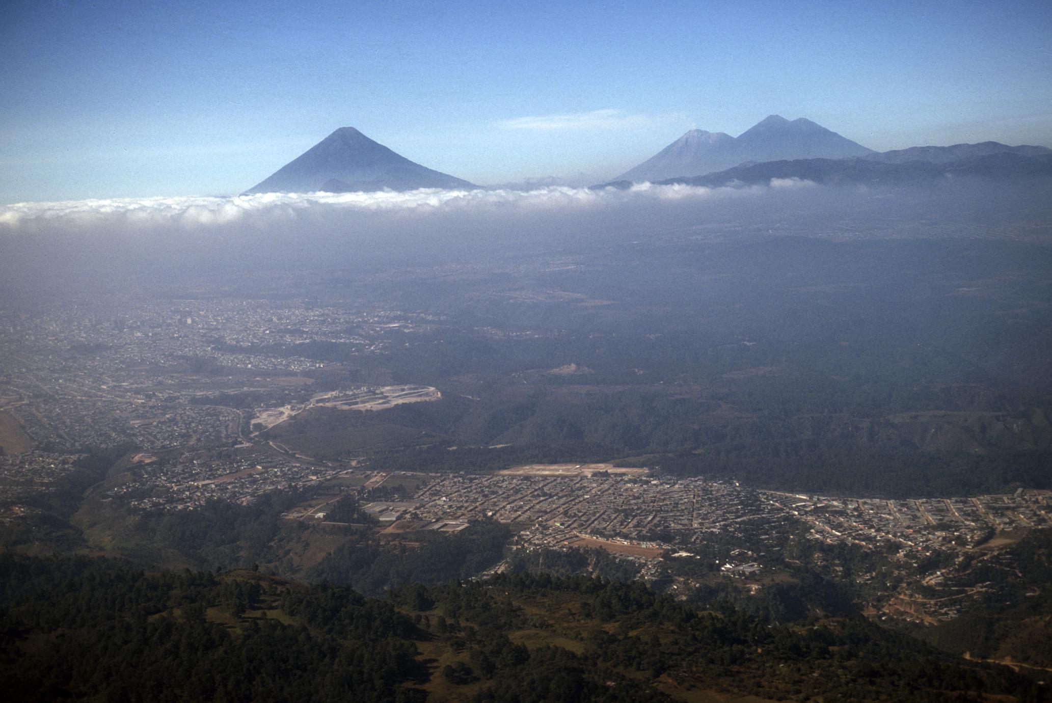 Guatemala City landscape