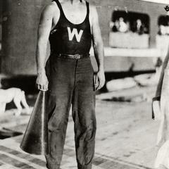 Joe Steinauer on the dock