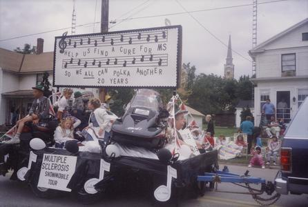 Multiple sclerosis parade float