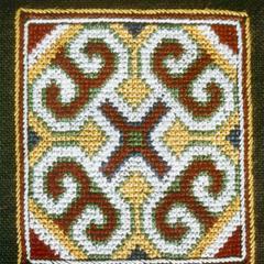 Yao (Iu Mien) embroidery in Houa Khong Province