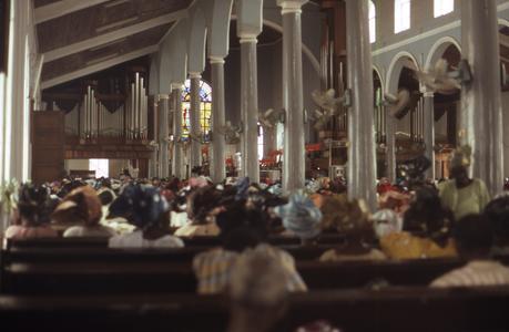 Chief Samuel Thompson funeral's held at St. John's Church, Iloro