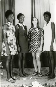 Four women including Trager