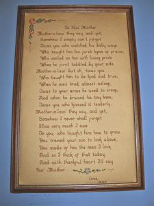 """""""To his mother"""" poem"""