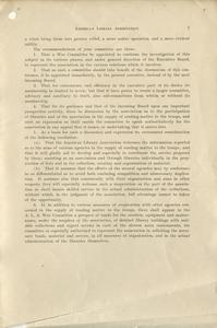 Page 7 - Our libraries and the war : report of preliminary committee to the American Library Association, at its annual meeting at Louisville, June 22, 1917