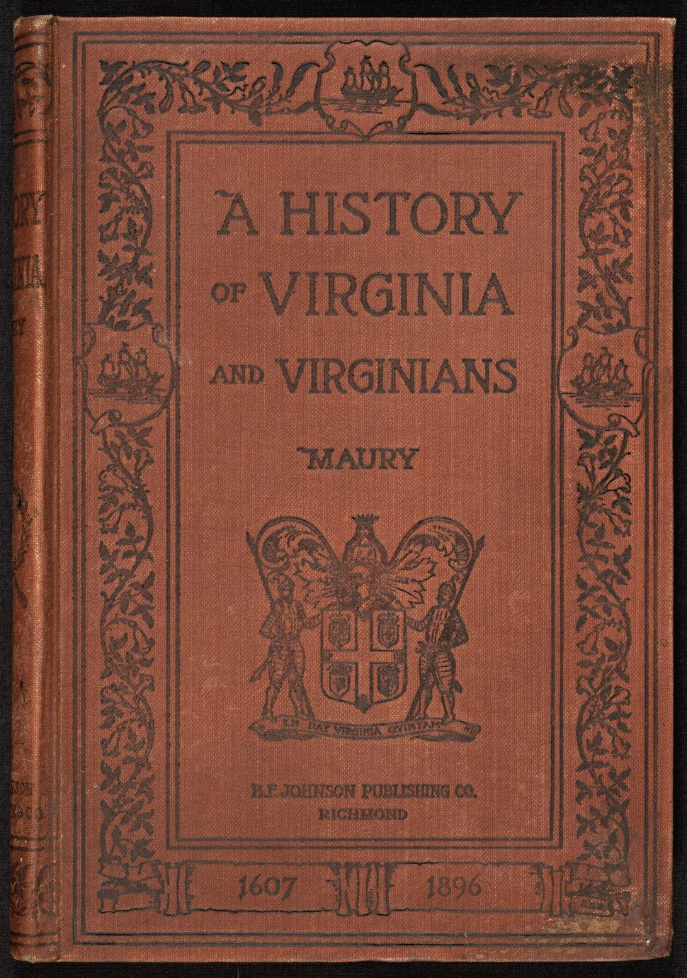 A young people's history of Virginia and Virginians (1 of 3)