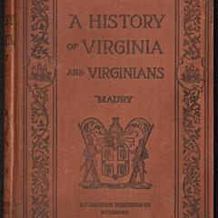 A young people's history of Virginia and Virginians