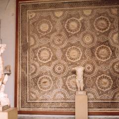 Mosaic at Bardo Museum