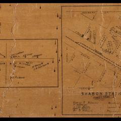 Sharon and Sharon Station maps