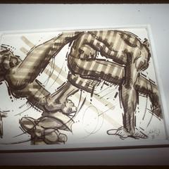 Title Unknown, work by Sidney Lizardo (Lizar)