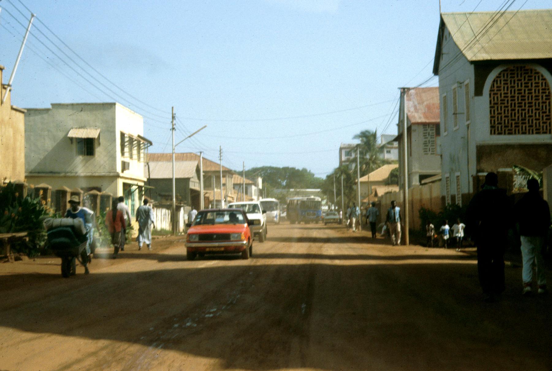 Street in Banjul, the Capital City