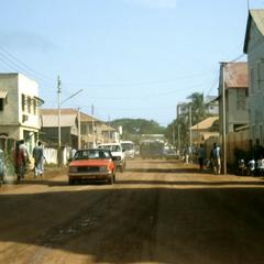 Street in Banjul, the Capital City