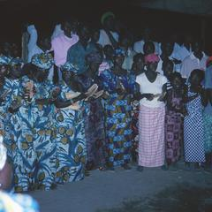 Women Singing and Clapping at the Naming Ceremony
