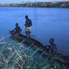 Hippo Hunters on the River