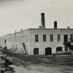 Hannah and Jackson's first factory