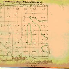 [Public Land Survey System map: Wisconsin Township 05 North, Range 06 East]