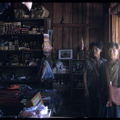 Yao village--Akha in store