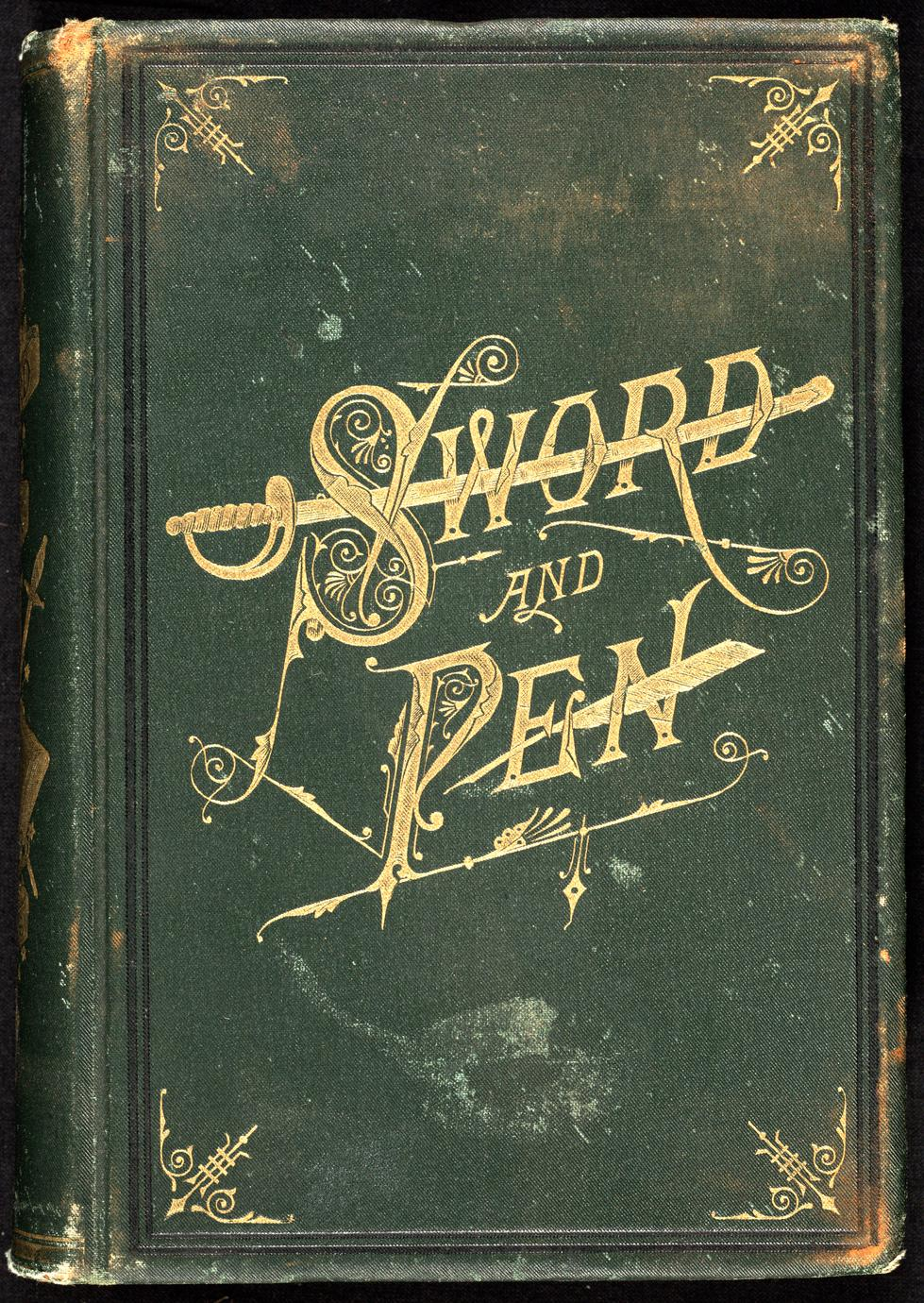 Sword and pen ; or, Ventures and adventures of Willard Glazier, in war and literature : comprising incidents and reminiscences of his childhood, his chequered life as a student and teacher, and his remarkable career as a soldier and author : embracing also the story of his unprecedented journey from ocean to ocean on horseback (1 of 2)