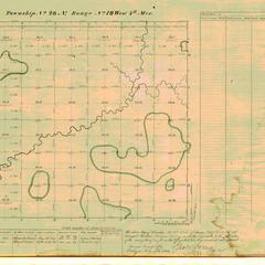 [Public Land Survey System map: Wisconsin Township 28 North, Range 18 West]