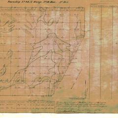 [Public Land Survey System map: Wisconsin Township 24 North, Range 18 East]