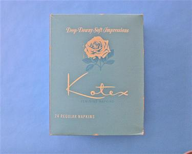Kotex feminine napkins