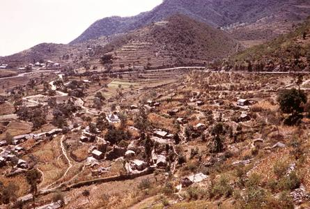 Hill Villages on the Road from Asmara