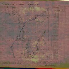 [Public Land Survey System map: Wisconsin Township 35 North, Range 11 West]