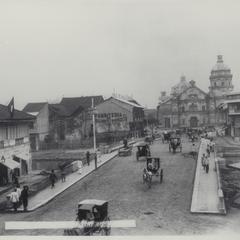 Church and convent of Binondo, Manila, 1899