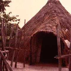 Haya House at Outdoor Village Museum near Dar es Salaam